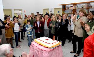 Os três anos foram comemorados com muita festa
